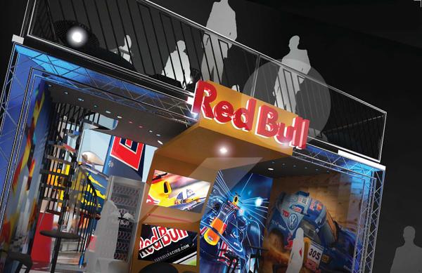Expo Stands Australia : Redbull exhibition stand sydney australia bounce